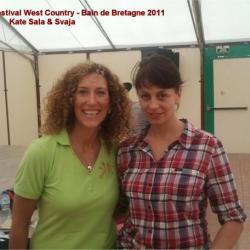 KATE SALA ET SVAJA/WEST COUNTRY2011