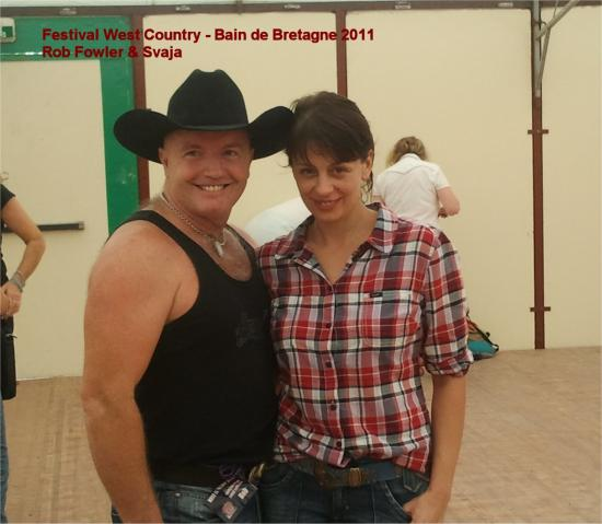 ROB FOWLER ET SVAJA/WEST COUNTRY2011