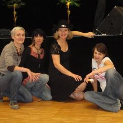 Niort  avril 2011 avec GUYLAINE BOURDAGES